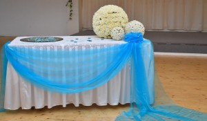 Dekoration (blau)